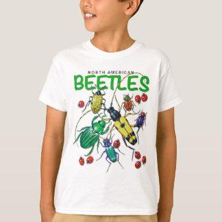 T-shirt nord-américain de scarabées