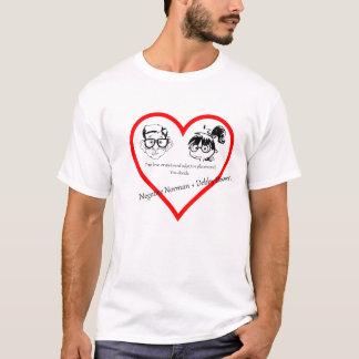 T-shirt Normand et dépresseur négatifs de Debby