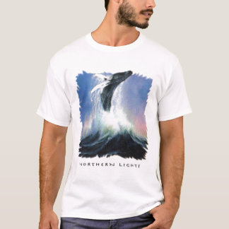 T-shirt Northernlightswhale
