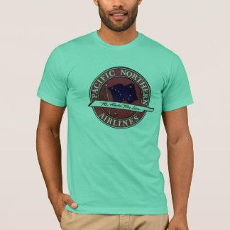 T-shirt Northwest Airlines Pacifique de l'Alaska
