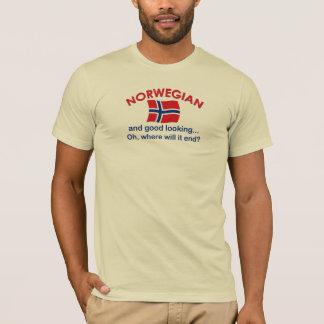T-shirt Norvégien beau