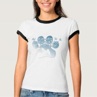 T-shirt Norvégien Elkhound Granddog