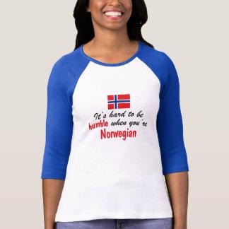 T-shirt Norvégien humble