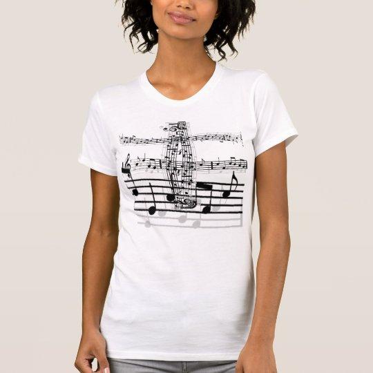 T-shirt Notes De Musique, Notes De Musique, Notes De
