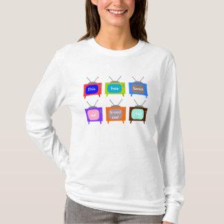 T-shirt Notre conception de la télévision TV de jour