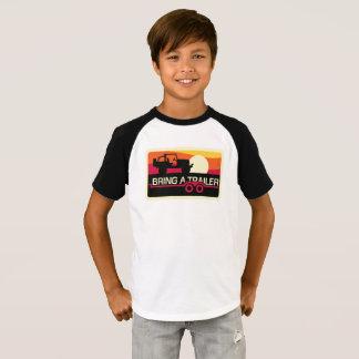 T-shirt Notre conception du coucher du soleil 4x4 pour des