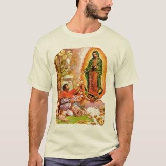 T-shirt Notre Madame de Guadalupe et saint Juan Diego