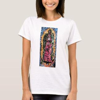 T-shirt Notre Madame d'habillement de mosaïque de