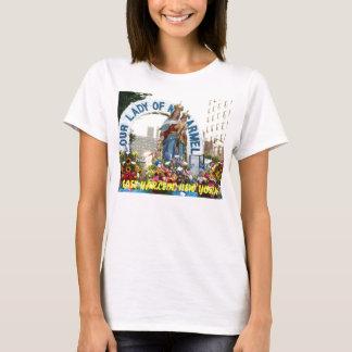 T-shirt Notre Madame du mont Carmel, HARLEM EST, NEW YORK