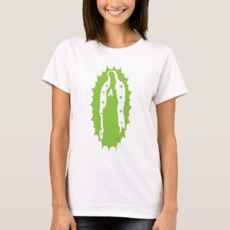 T-shirt Notre vert de chaux moderne de Madame Guadalupe