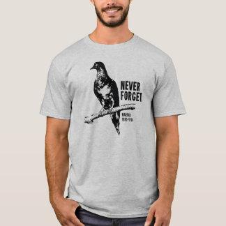 T-shirt N'oubliez jamais le pigeon de passager Martha