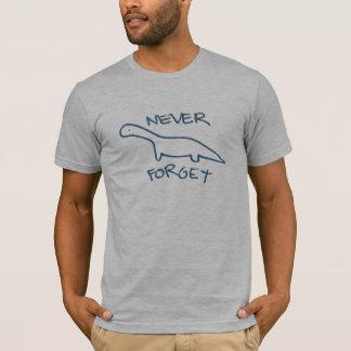 T-shirt N'oubliez jamais les dinosaures