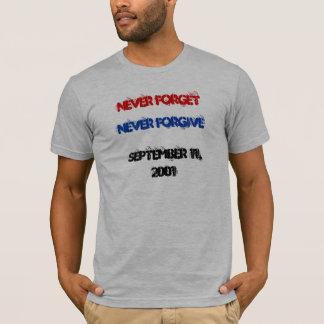 T-shirt N'oubliez jamais, ne pardonnez jamais, le 11