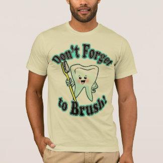 T-shirt N'oubliez pas de balayer