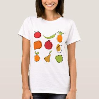 T-shirt Nourriture créative