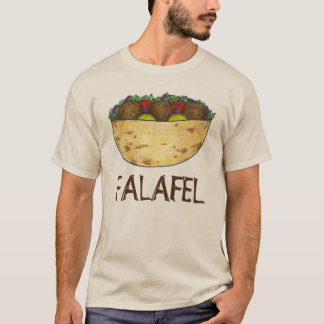 T-shirt Nourriture méditerranéenne de sandwich à Pita