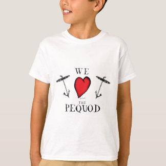 T-shirt nous aimons le pequod