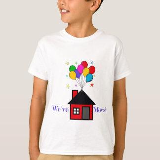 T-shirt Nous avons déplacé la nouvelle maison