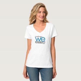 T-shirt Nous avons résisté à 02