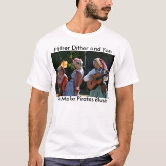 T-shirt Nous incitons des pirates à rougir pièce en t
