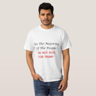 T-shirt Nous la majorité