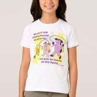 """T-shirt """"Nous ne cessons pas de jouer puisque nous"""