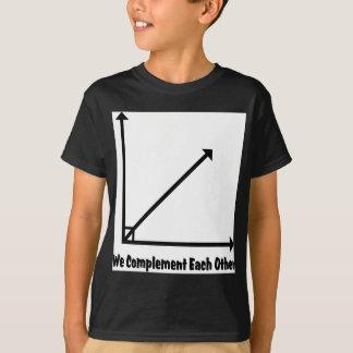 T-shirt nous nous complétons