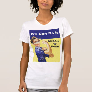 T-shirt Nous pouvons le faire - McCain * Palin