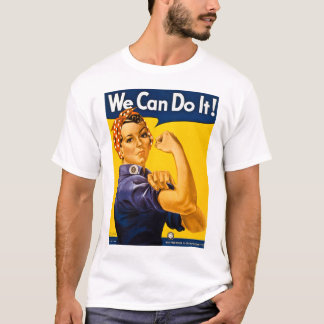 T-shirt Nous pouvons le faire ! Rosie le cru 2ÈME GUERRE