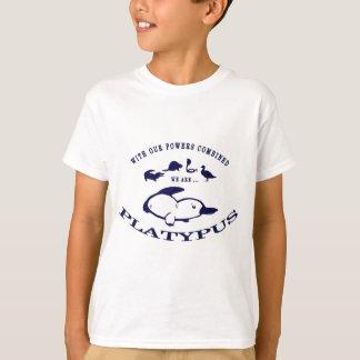 T-shirt Nous sommes des ornithorynques