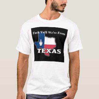 T-shirt nous sommes du Texas
