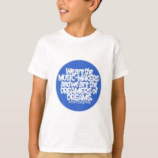 T-shirt Nous sommes les fabricants de musique…