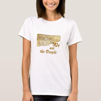 T-shirt NOUS sommes les personnes - dos de blanc