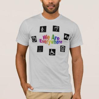 T-shirt Nous sommes partout