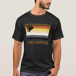 T-shirt Nous sommes partout chemise (l'ours)