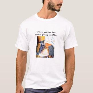 T-shirt Nous sommes plus futés
