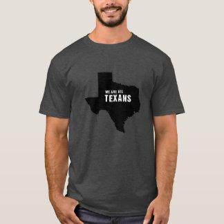 T-shirt Nous sommes tous les Texans après ouragan Harvey