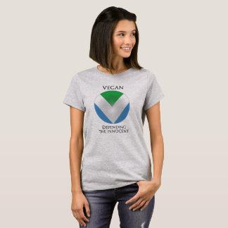T-shirt NOUVEAU DRAPEAU VÉGÉTALIEN OFFICIEL : Bouclier du