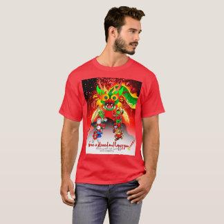 T-shirt Nouvelle année chinoise Willie Wolf et chemise de