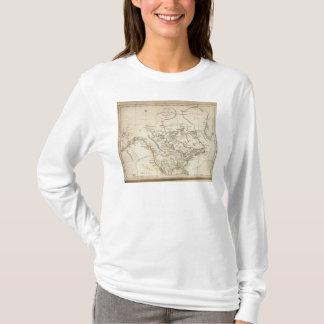 T-shirt Nouvelle carte de l'Amérique du Nord