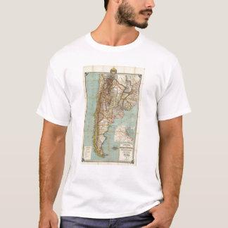 T-shirt Nouvelle carte de l'Argentine