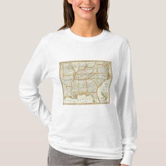 T-shirt Nouvelle carte topographique de la guerre de