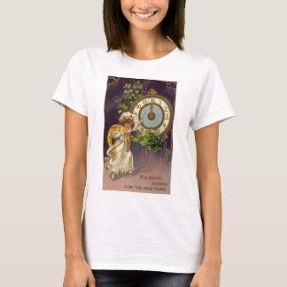 T-shirt Nouvelles années d'Ève victoriennes vintages,