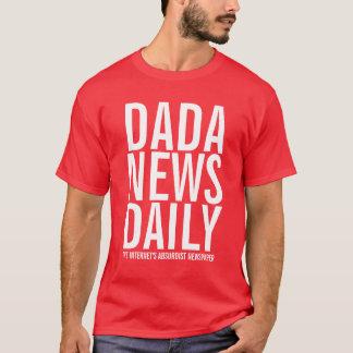 T-shirt Nouvelles de Dada quotidiennes