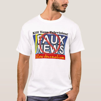 T-shirt Nouvelles de Faux
