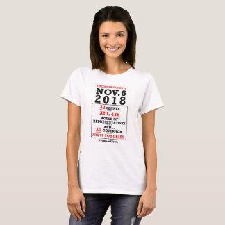 T-shirt Nov.6, 2018 - votez-les