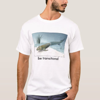 T-shirt NSF-illustration-de-tiktaalik, soyez transitonal