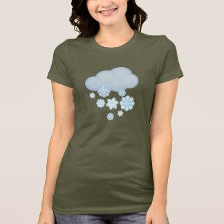 T-shirt nuage de neige
