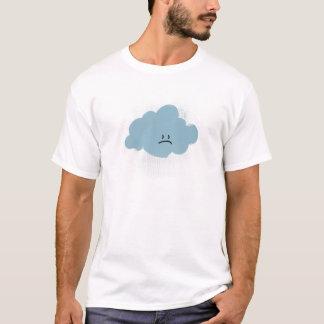 T-shirt Nuage de pluie triste