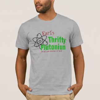 T-shirt nucléaire de plutonium de la Science